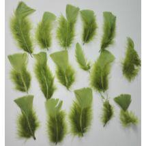 Olajzöld színű puha toll