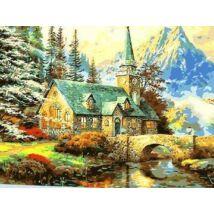 Számozott festőkészlet 40x50 cm (új)