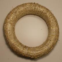 Széna koszorú 25 cm