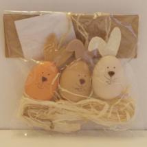 Húsvéti dekoráció 3 db-os