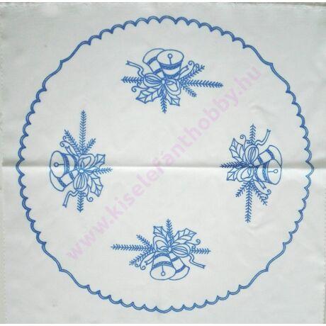 Előnyomott kézimunka (53X53 -283) karácsonyi