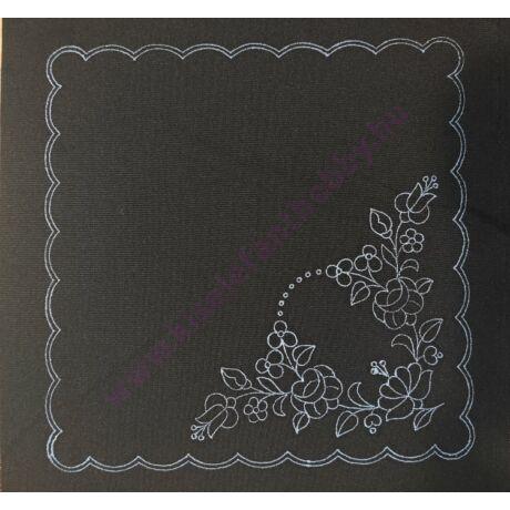 Fekete kalocsai minta (30X30 - 40)