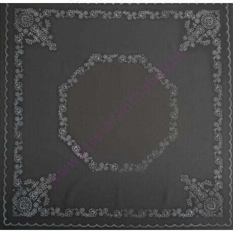 Fekete matyó abrosz (90X90 - )