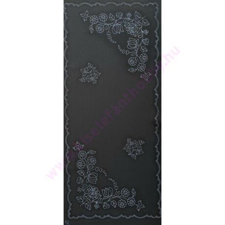 Fekete futó (80X40 - 22) kalocsai