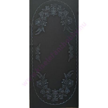 Fekete futó (80X40 - 15) kalocsai