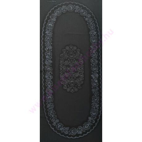 Fekete futó (80X40 - 20) matyó