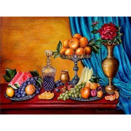 Számozott festőkészlet 40x50 cm