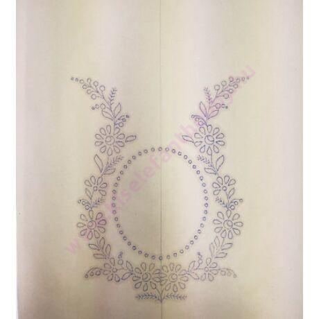 Előnyomott kézimunka (kress vászonra) szatyor/táska - 14