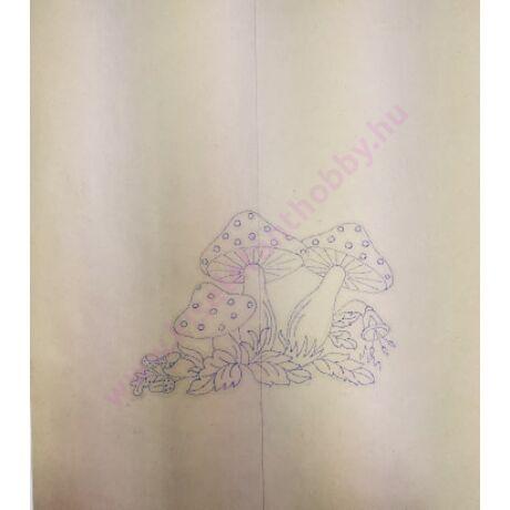 Előnyomott kézimunka (kress vászonra) szatyor/táska - 11