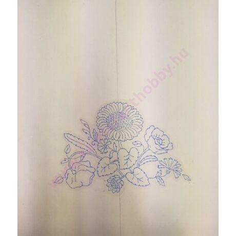 Előnyomott kézimunka (kress vászonra) szatyor/táska - 10