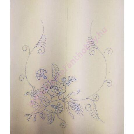 Előnyomott kézimunka (kress vászonra) szatyor/táska - 16