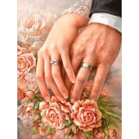 Gyöngy vagy gyémánt kép 40x50 cm