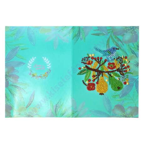 Gyémántszemes képeslap