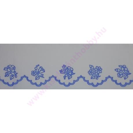 Előnyomott kézimunka szekrénycsík - kalocsai - 1
