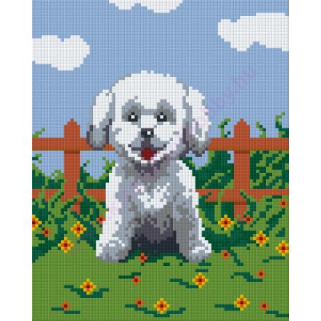 Kutya pixelhobby kirakó