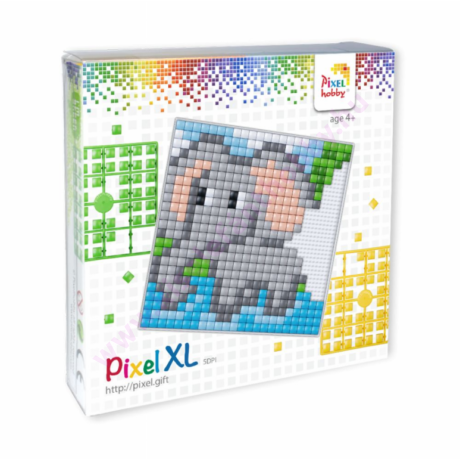 Pixel XL szett - Elefánt