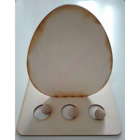 Tojástartó tojásos