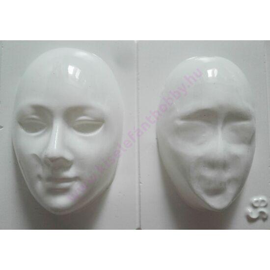 Gipszkiöntő forma maszk