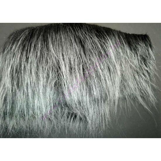 Manó szakáll műszőrme szürke