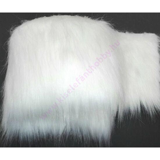 Manó szakáll műszőrme fehér