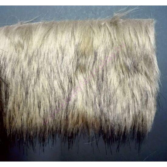 Manó szakáll műszőrme drapp-barna