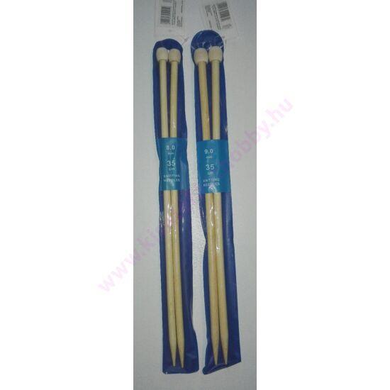 Egyenes bambusz kötőtű 8-9