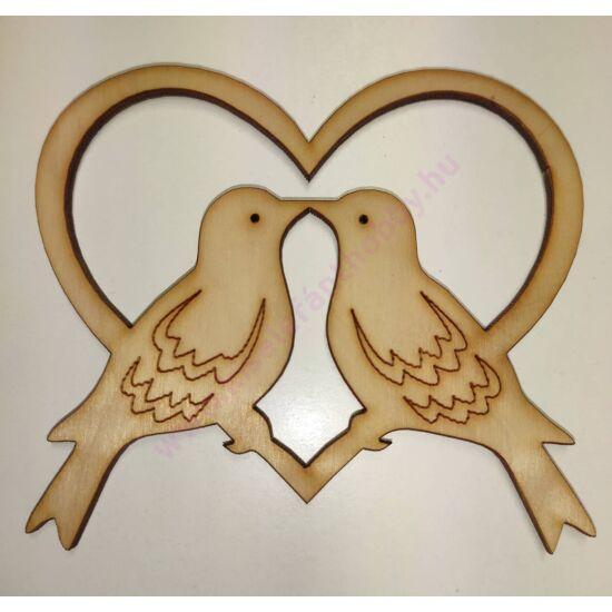 Szerelmes galambok 10 cm
