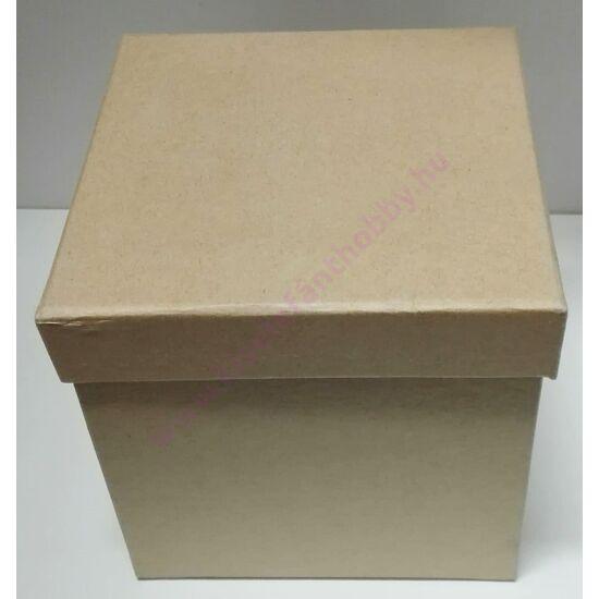 Kocka papírdoboz natur 14x14x15 cm
