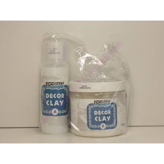 Dekor Clay szett 200 gr