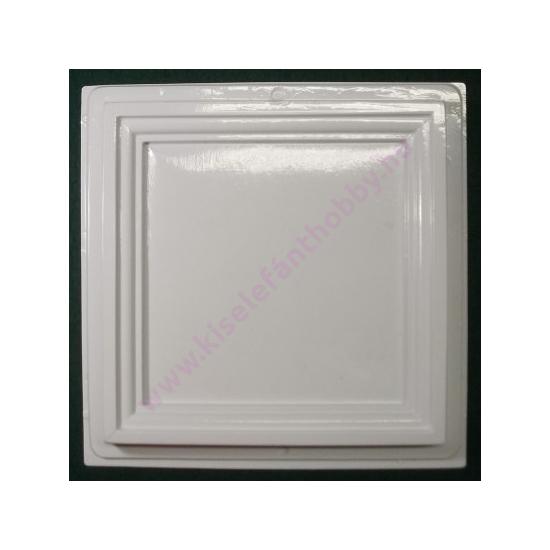 Gipszkiöntő formák/ képkeret 16,5X16,5 cm