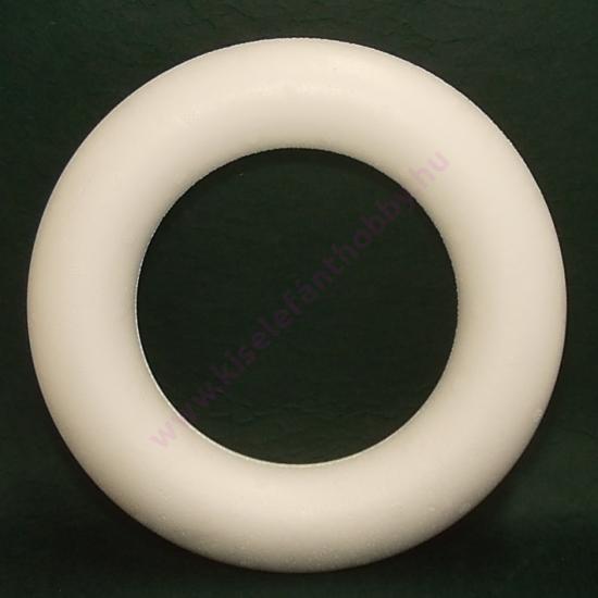 Hungarocell koszorú 25 cm, vastag