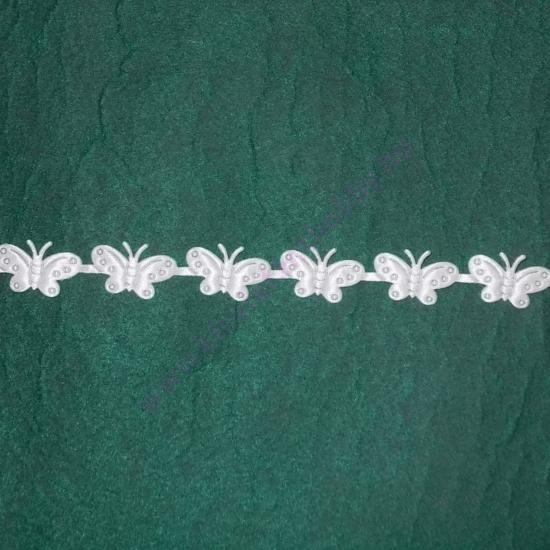 Szatén pillangók 1,5 cm