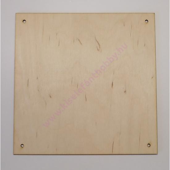 Szalvéta méretű tábla 16X16 cm